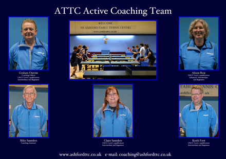 The 2014 ATTC Coaching Team - click to enlarge