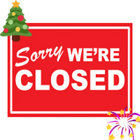ATTC Hall Closed at Christmas and New Year