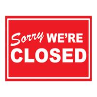 ATTC Hall Closed