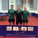 Alex (Sasha) Gillen makes his Senior Debut For Ireland