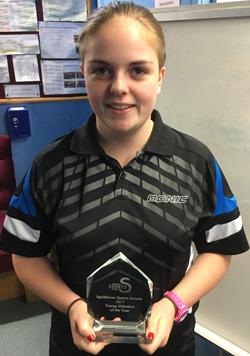 Ellie Frost - Spelthorne Sports Award 2017