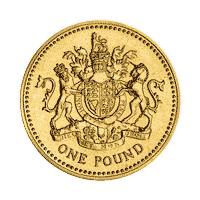 One pound coin (1983)