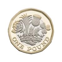 One pound coin (2017)