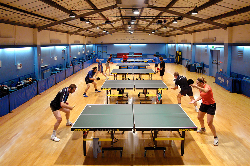 Ashford Table Tennis Club - Hall