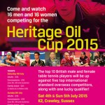 Heritage Oil Cup 2015