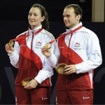 Joanna Drinkhall & Paul Drinkhall - Commonwealth Gold Medal winners 2014
